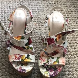 wedge heels from macys sz 10